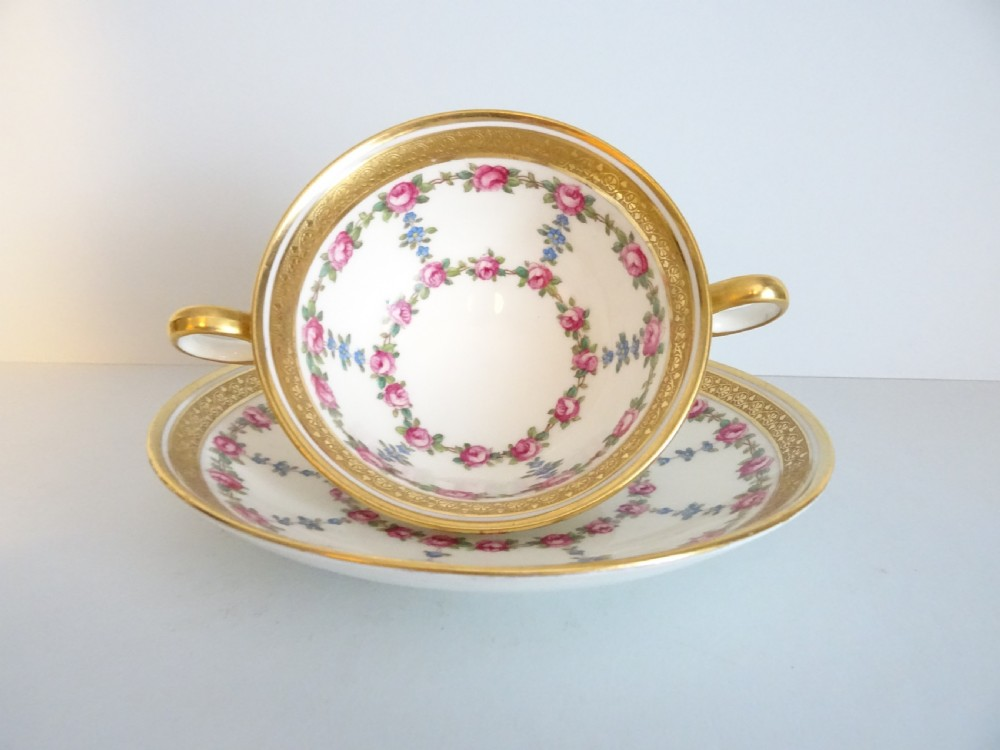 cauldon consomme cup and saucer