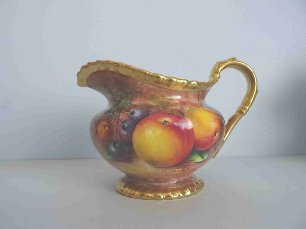 royal worcester milk jug